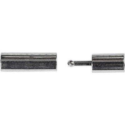 Magneetsluiting 3 a 14 mm verzilverd 10 stuks