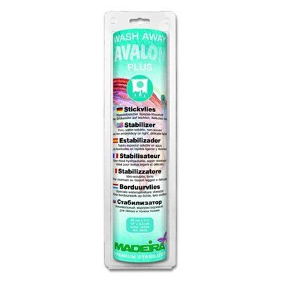 Madeira Avalon Plus Wash Away 0,3 a 0,3 mm wit - M9442
