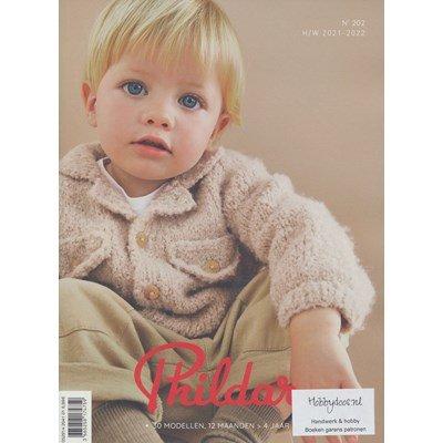 Phildar nr 202 Herfst winter 2021 - 2022 30 patronen voor kinderen 2-4 jaar