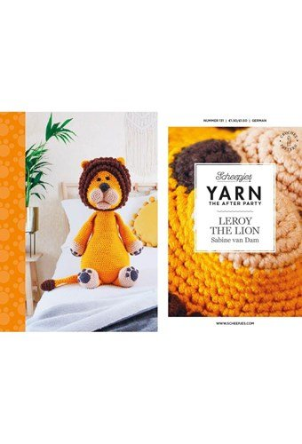 Scheepjes Yarn after party no. 131 Leroy the Lion
