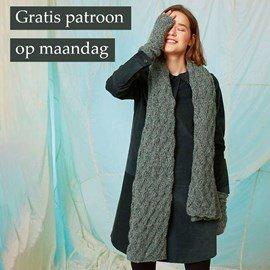 Gratis patroon - Sjaal