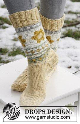 Gebreide sokken voor Pasen van Merino ....