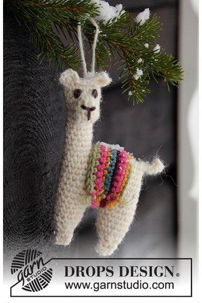 Haakpatroon Alpaca / Lama Hanger
