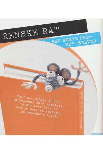Haakpatroon Boekenlegger rat
