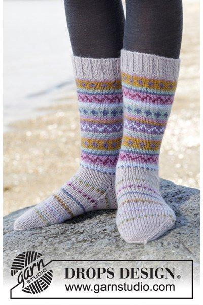 Breipatroon Vrolijke sokken