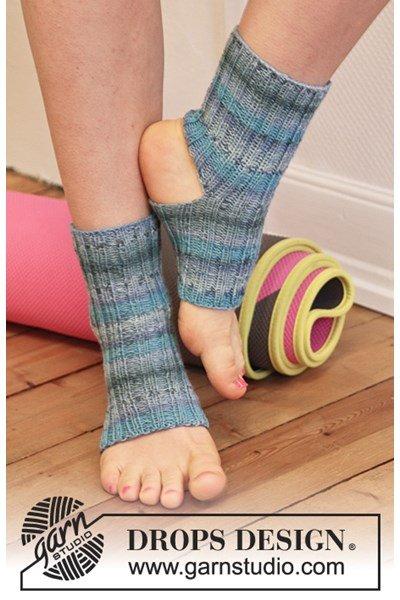 Breipatroon yogasokken