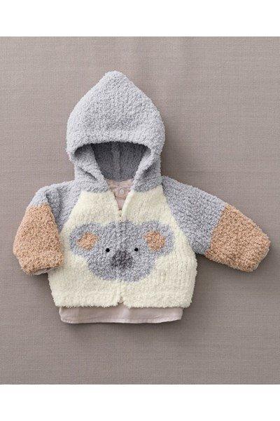 Breipatroon Babyvest Koala