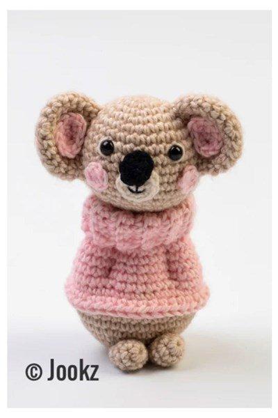 Haakpatroon Mini koukleum koala