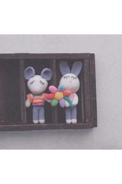 Haakpatroon Muis en konijn