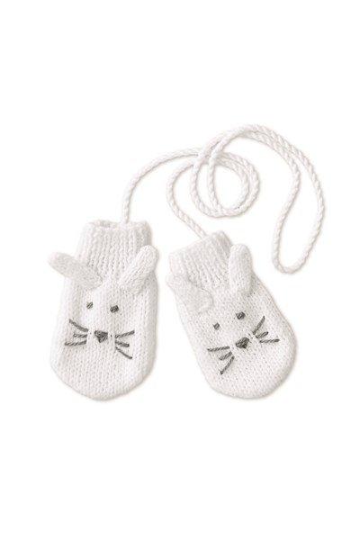 Breipatroon Wantjes voor baby