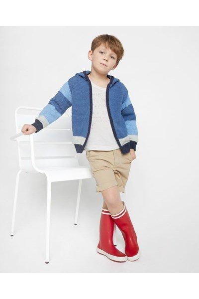 Breipatroon Vest voor jongens