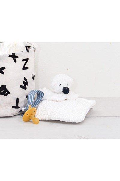 Haakpatroon Knuffeldoekje ijsbeer