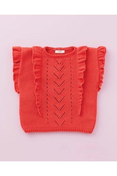 Breipatroon Meisjes trui