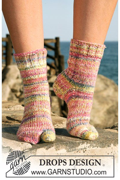 Breipatroon Sokken met grote teen