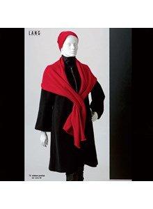 lang Yarns Lang gebreide sjaal.