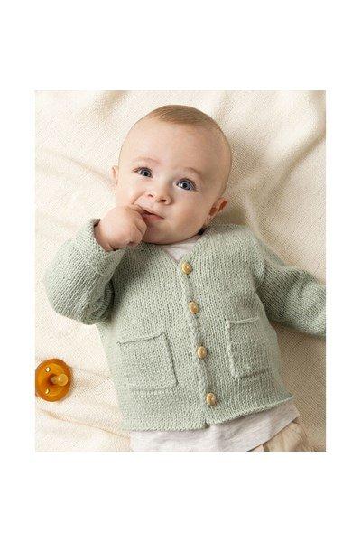 Breipatroon Baby vestje