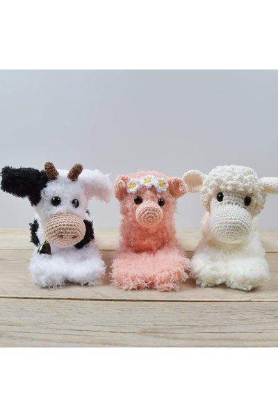 Klaparmband van boerderijdieren