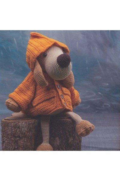 Haakpatroon Hond met regenjas
