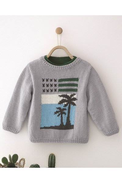 Breipatroon Kinder trui