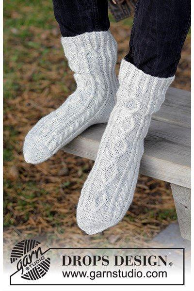 Breipatroon Sokken Silver Steps