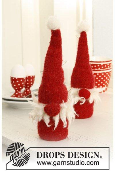 Breipatroon Gevilte Kerstman van Alaska.