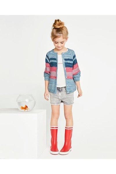 Breipatroon Vest voor meisje