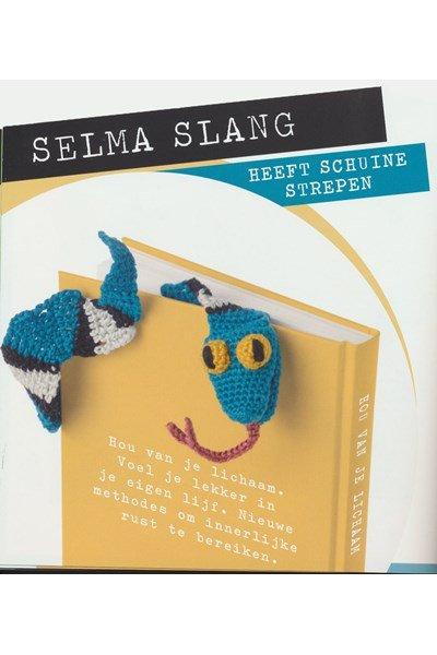Haakpatroon Boekenlegger slang