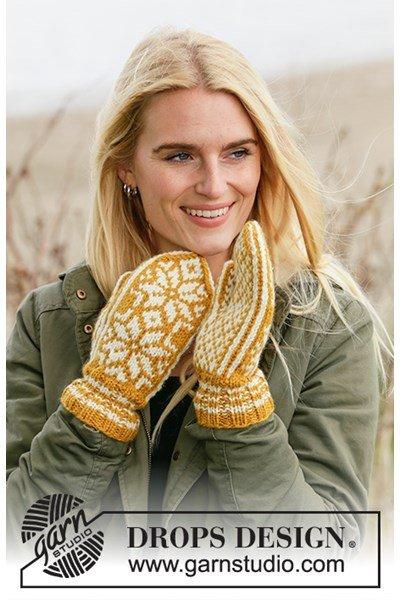 Breipatroon Dames handschoenen