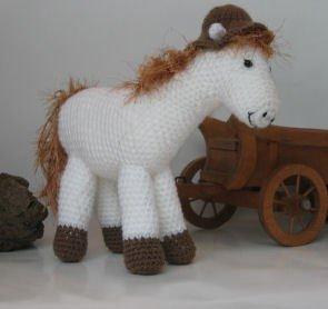 Haakpatroon Paard met hoed