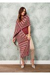 Breipatroon Dames sjaal van andere kant
