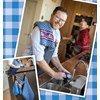 Keukendoeken met schort
