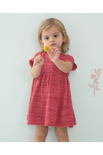 Breipatroon Meisjes jurk