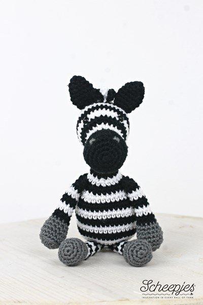 Haakpatroon Zebra