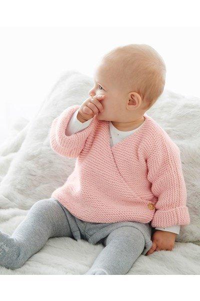 Breipatroon Baby truitje