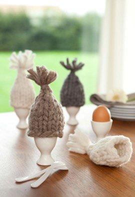 Helemaal leuk deze eierwarmers.
