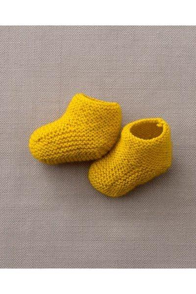 Breipatroon babysokjes