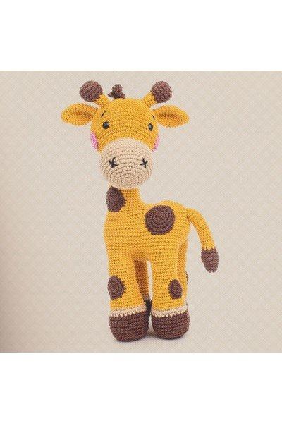 Haakpatroon Knuffel Giraf