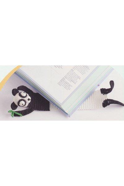 Haakpatroon Boekenlegger Paloma Panda