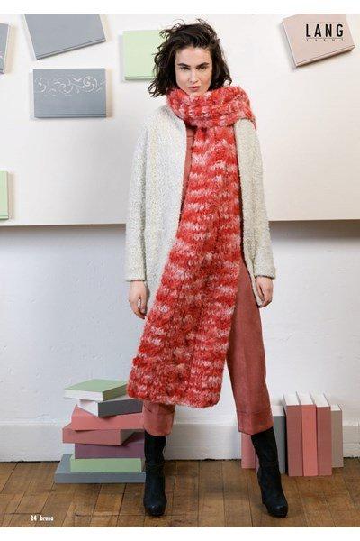 Breipatroon Lange sjaal