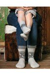 Breipatroon Sokken Yin Yang van andere kant