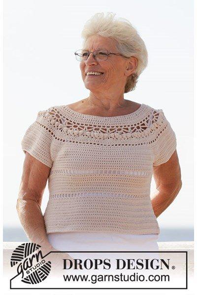 Haakpatroon Dames shirt