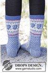 Breipatroon Vrolijke sokken van andere kant