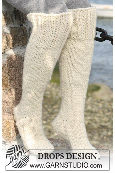 Breipatroon Lange sokken