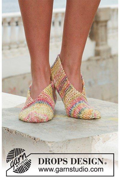 Breipatroon Gebreide slippers