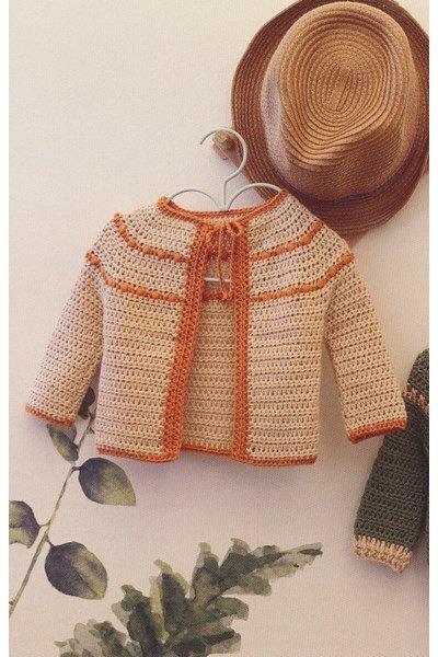 Haakpatroon Vestje voor baby s