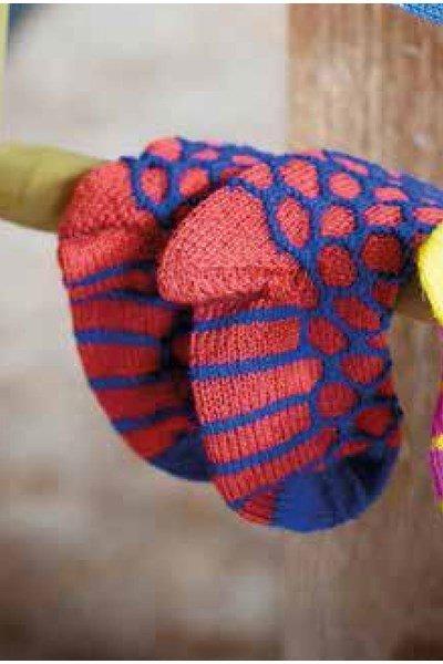 Breipatroon sokken voor kinderen