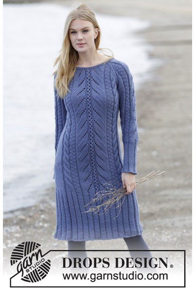 Breipatroon Gebreide jurk