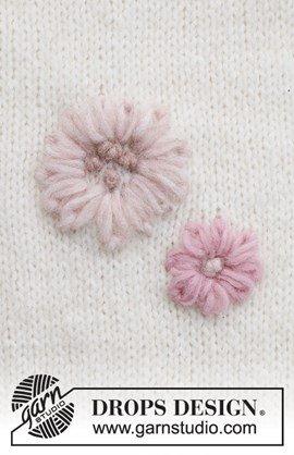 Borduurpatroon bloemen Playful Daisies ....
